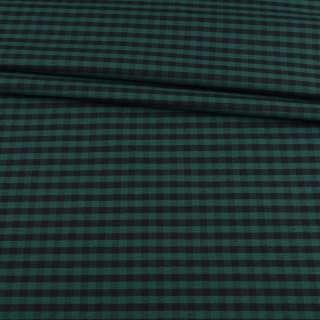 Шотландка зеленая в черную клетку ш.150 оптом