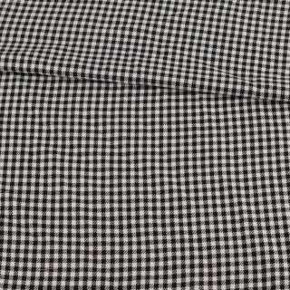 Шотландка в черно-белую мелкую клетку, ш.145 оптом