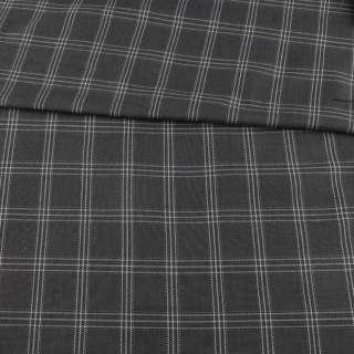 Шотландка серая в черно-белую клетку, ш.115 оптом