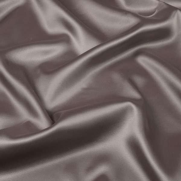 Коттон-атлас коричнево-серый ш.150 оптом