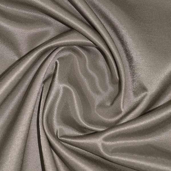 Коттон-атлас серо-коричневый, ш.150 оптом