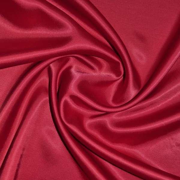 Коттон-атлас темно-красный (оттенок вишневый) ш.150 оптом