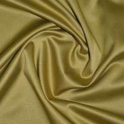 Коттон-атлас горчично-золотистый, ш.150 оптом