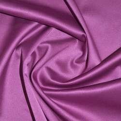Коттон-атлас сиренево-розовый, ш.150 оптом