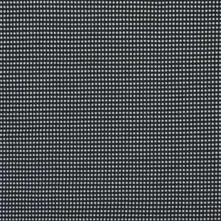 Коттон-стрейч черный в белую точку, ш.150 оптом