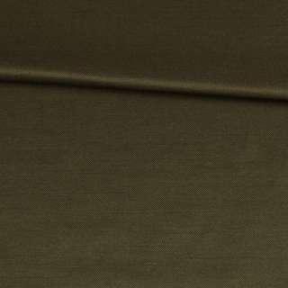 Коттон с отливом оливковый темный, ш.150 оптом