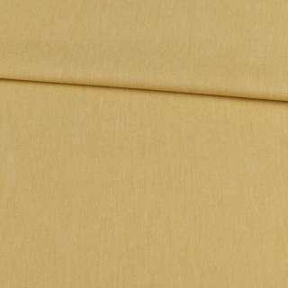 Коттон меланж стрейч горчичный светлый, ш.145 оптом