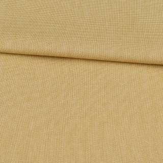 Коттон меланж стрейч горчичный светлый полотняный, ш.145 оптом