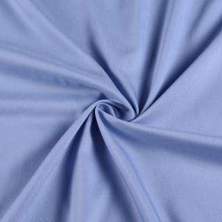 Коттон стрейч голубой, ш.145 оптом