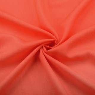 Хлопок со льном оранжевый яркий ш.150 оптом