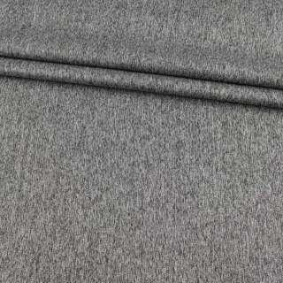Коттон стрейч костюмный серый меланж ш.140 оптом