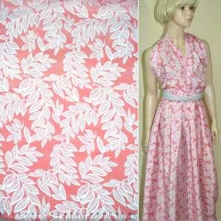 Купра диллон розовая с белыми листьями ш.145 оптом