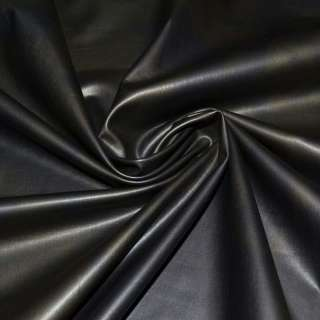 Трикотаж чорний, під шкіру ш.150 оптом