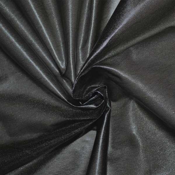 Лайкра под кожу легкая черная с блеском ш.120 оптом