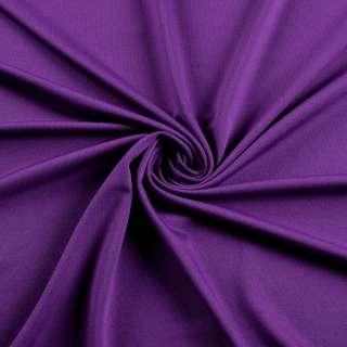 Микролайкра фиолетовая, ш.160 оптом