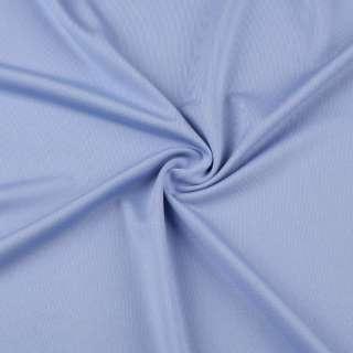 Мікролайкра блакитна волошкова ш.162 оптом