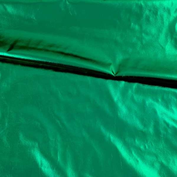 Лаке металлик не стрейчевое зеленое, ш.150 оптом