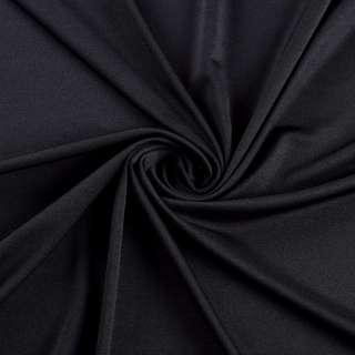 Лайкра тонкая черная, ш.165 оптом
