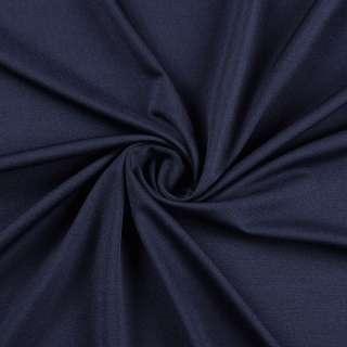 Лайкра тонкая синяя темная, ш.165 оптом