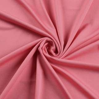 Лайкра тонкая розовая чайная роза яркая, ш.165 оптом