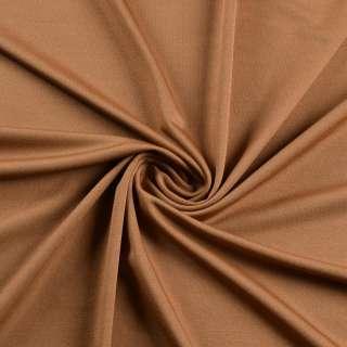 Лайкра тонкая коричневая светлая, ш.165 оптом