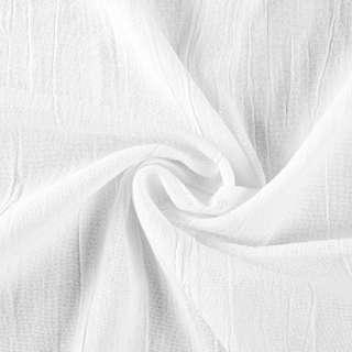 Лен коттон плотный жатый белый, ш.135 оптом