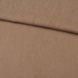 льон темно-бежевий однотонний ш.140 оптом