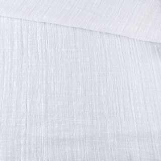 Лен-коттон белый жатый, ш.135 оптом
