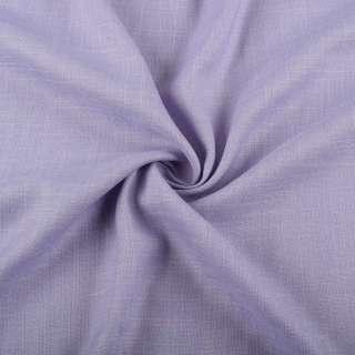 Льон стрейч з бавовною бузково-блакитний ш.145 оптом
