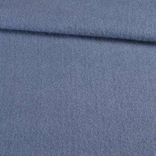 Лоден мохер блакитний темний, ш.155 оптом