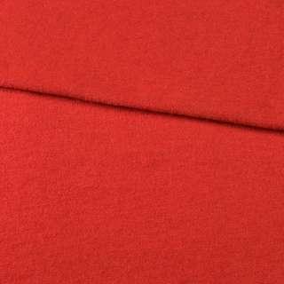 Лоден вовняний костюмний червоний, ш.150 оптом