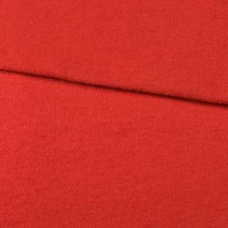Лоден шерстяной костюмный алый, ш.150 оптом