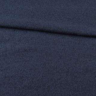 Лоден шерстяной костюмный синий, ш.150 оптом