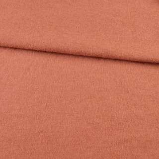 Лоден вовняний костюмний теракотово-рожевий, ш. 150 оптом