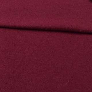 Лоден шерстяной костюмный бордовый, ш.155 оптом