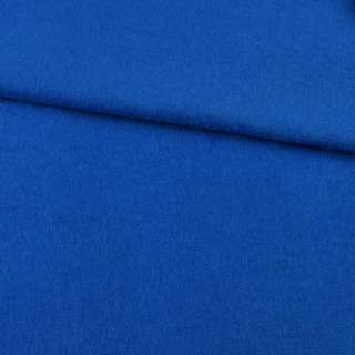 Лоден шерстяной костюмный синий ультрамарин, ш.155 оптом