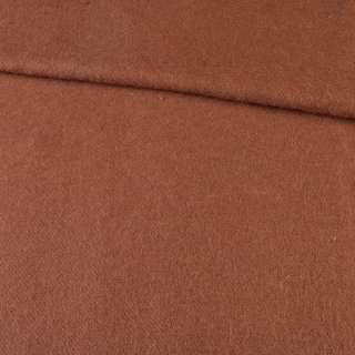 Лоден мохеровый пальтовый коричневый, ш.150 оптом