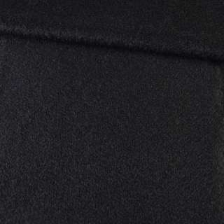 Лоден мохеровий з стрижені ворсом пальтовий чорний ш.150 оптом