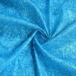 травка голубая с голубыми люрексовыми нитями, ш.135 оптом