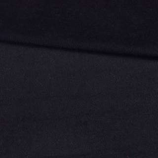 Напіввовна пальтова з ворсом чорна, ш.150 оптом