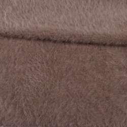 Ангора длинноворсная пепельно-коричневая ш.150