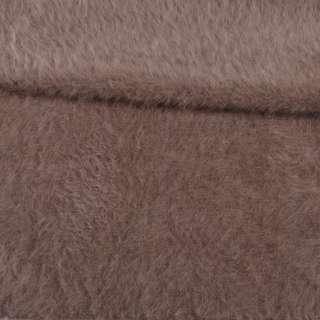 Ангора длинноворсная пепельно-коричневая ш.150 оптом
