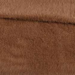 Ангора длинноворсная коричневая ш.150 оптом
