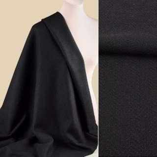Букле пальтове ялинка чорне, ш.153 оптом