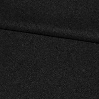 Ткань пальтовая 2-ст. черная ш.150 оптом
