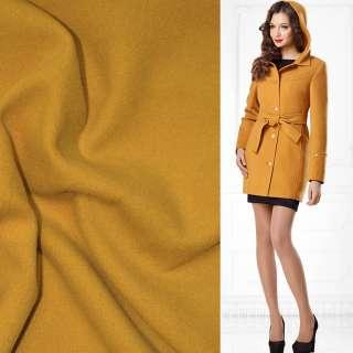 Ткань пальтовая 2-ст. желтая ш.150 оптом
