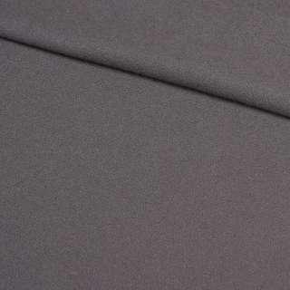 Креп пальтовий сірий, ш.150 оптом