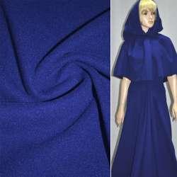 Ткань пальтовая фиолетовая на трикотажной основе ш.158 оптом