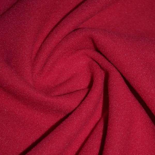 тк. пальтовая вишневая на трикот. осн. ш.150 оптом