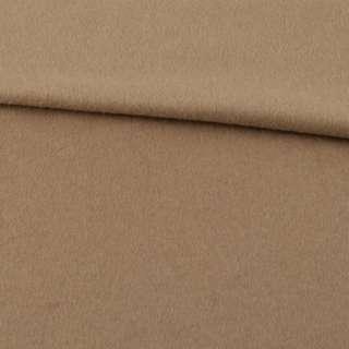 Кашемир пальтовый бежевый ш.155 оптом